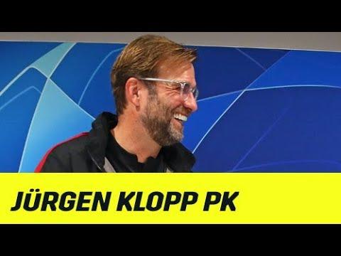 "Jürgen Klopp: PK vor CL-Gruppenendspiel: ""This is Anfield"" | FC Liverpool - SSC Neapel | DAZN"