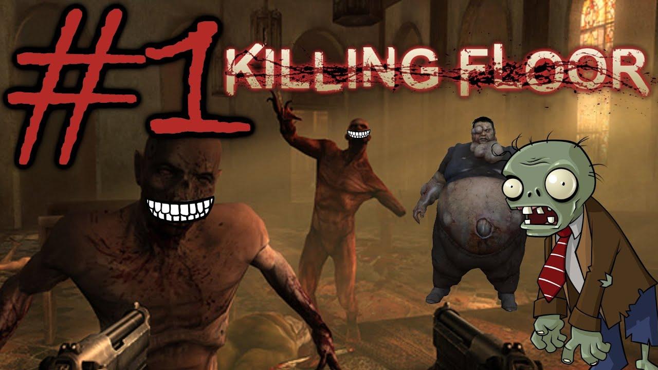 Zombies mutants or specimens killing floor part 1 for Killing floor zombies