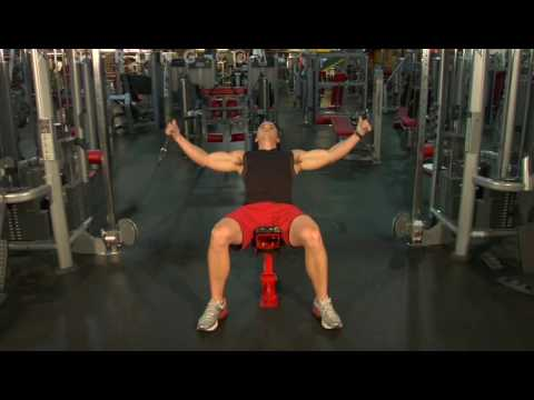 How to Do Incline Bench Cable Flys