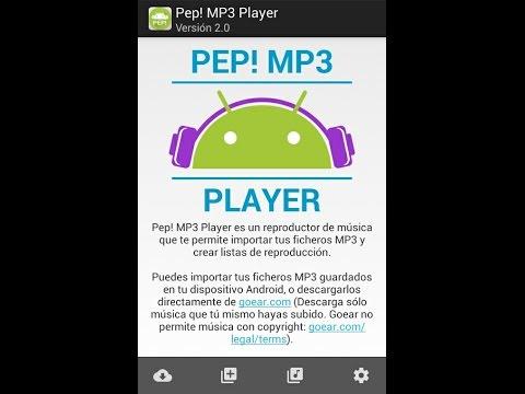 Descargar Pep! MP3 Player descargar musica gratis