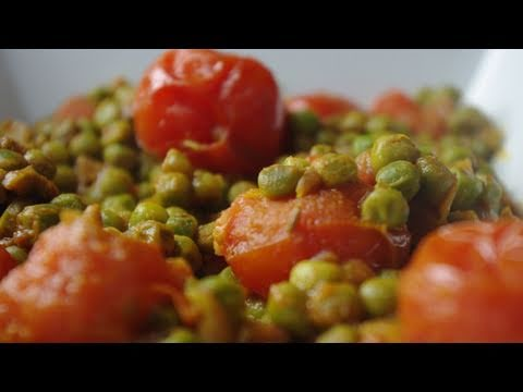 Curry petits-pois tomates