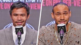 Manny Pacquiao vs. Keith Thurman FULL FINAL PRESS CONFERENCE | Fox PBC Boxing