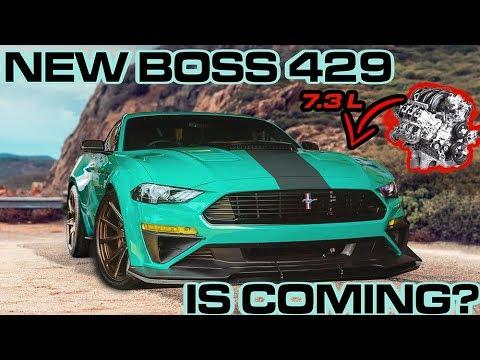 Ford's NEW 7.3L GODZILLA V8 HINTS at the Mustang BOSS 429's RETURN.