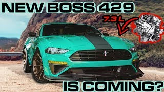 Ford's NEW 7.3L GODZILLA V8 HINTS at the Mustang BOSS 429's RETURN.