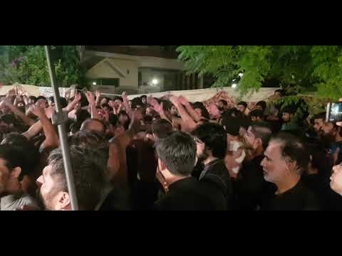 Ajaa Fazal Da Baba. Khan Tasadaq Pursa 21 Muharram 2019 Husnain Shah's House