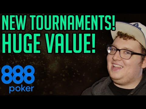 New Poker Tournament Schedule On 888poker!