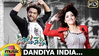 Dandiya India Video Song | Oosaravelli Telugu Movie | Jr NTR | Tamanna | DSP | Mango Music