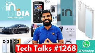 Tech Talks #1268 - Micromax Cheeni Kum Launch, iPhone 12 India, Redmi Note 10, PS5, JioPhone, S21