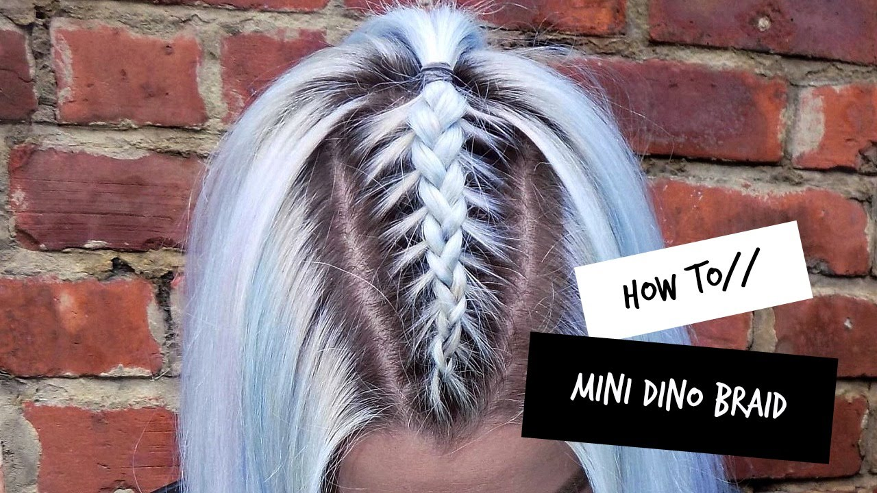 How To Mini Dino Braid Lovefings Youtube