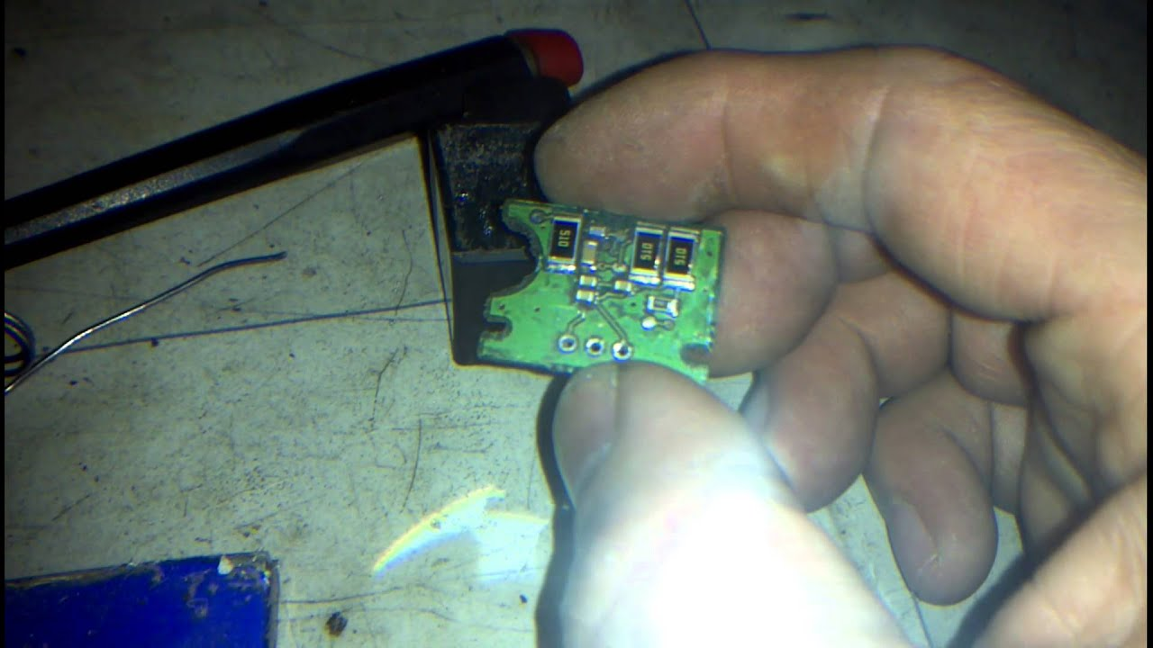 Reparation capteur g200