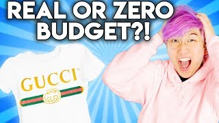 Can You Guess The REAL vs. ZERO BUDGET Designer Product!? (Versace vs. Thrift Shop)