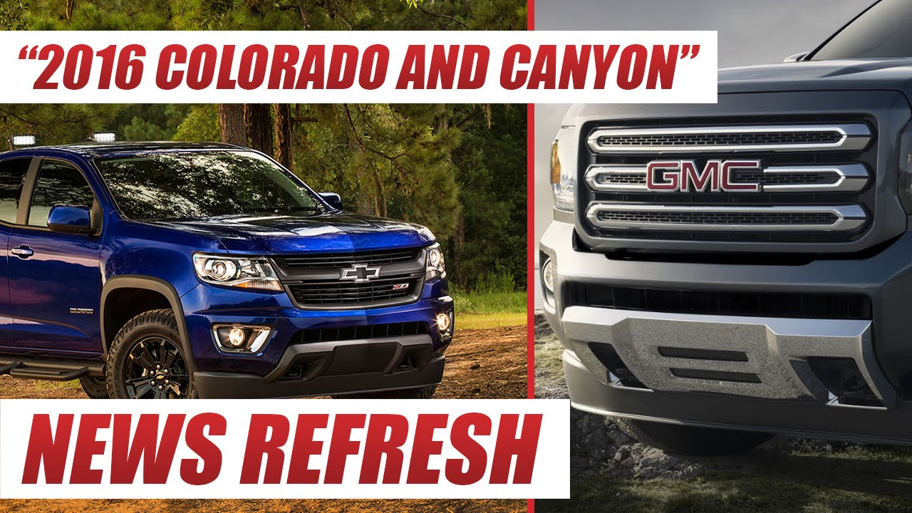 2016 Chevy Colorado and GMC Canyon Will the 2 8L Duramax