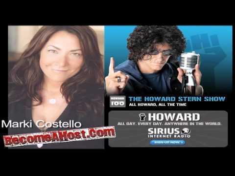 Marki Costello on Howard Stern