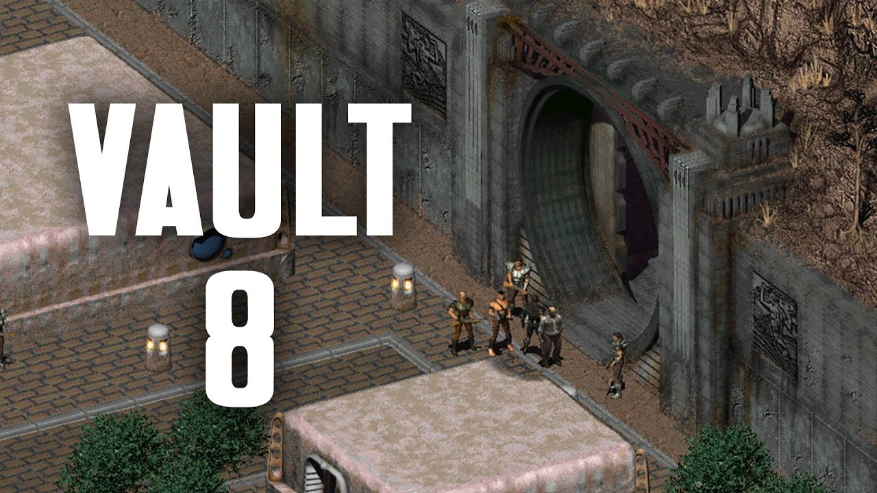 The Story of Fallout 2 Part 9: Vault 8 - Genetic Donations, Cranky  Computers, & Dermal Implants