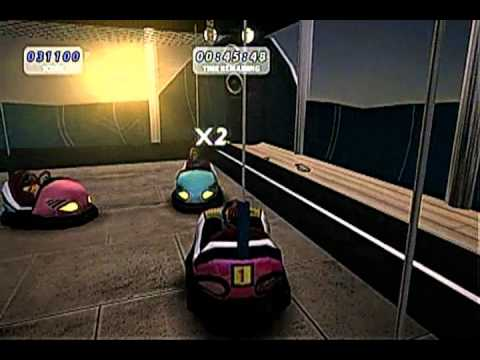 Thrillville Off The Rails Mini Game Bumper Cars Youtube