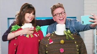 'The Tyler Oakley Show': Ugly Christmas Sweaters with Zooey Deschanel