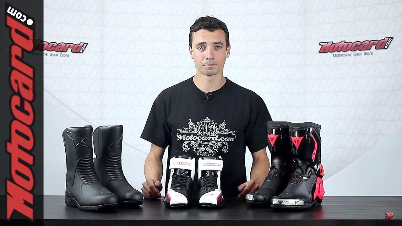 5aee72af557 Tutorial Solo Moto: escoger las botas adecuadas - YouTube