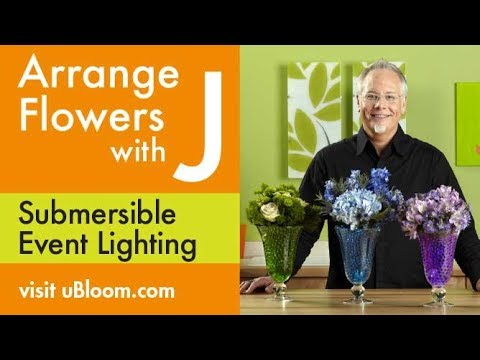 How To Create Illuminated Vases For Wedding Bouquets Youtube