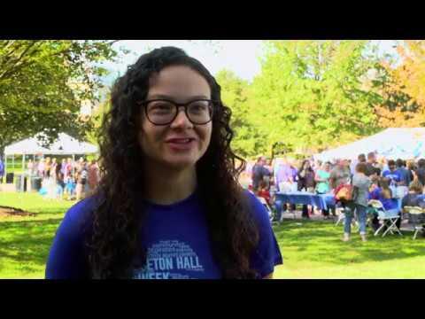 Meet Jackie, a Volunteer from DOVE at Seton Hall University