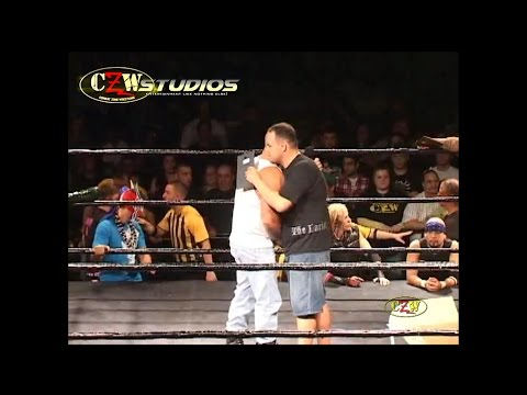 CZW: DJ Hyde takes over the Combat Zone! (CZWstudios.com) August 8, 2009