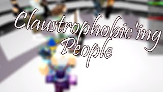 Claustrophobic'ing People - ROBLOX Social Experiment
