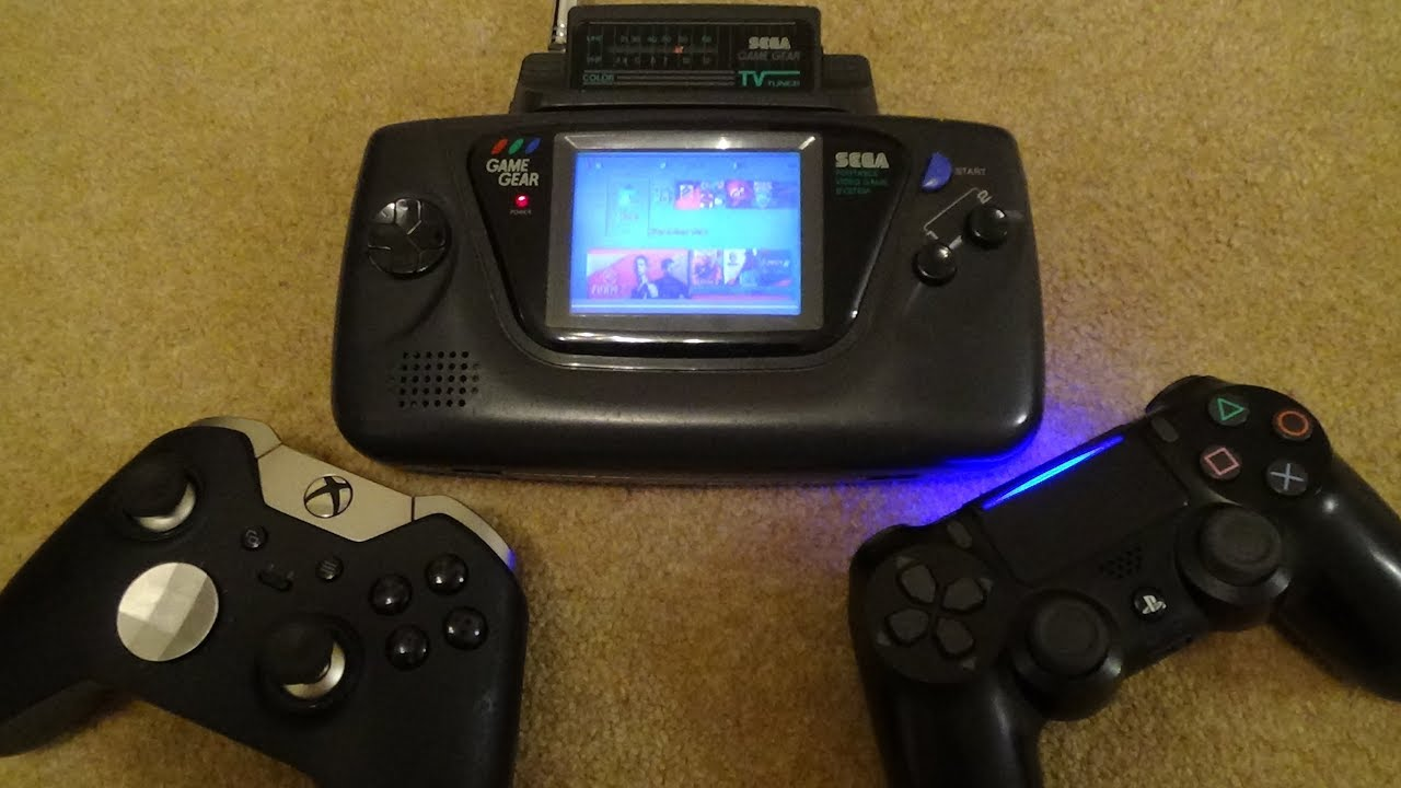 Ps4 Xbox One On The Sega Game Gear Youtube