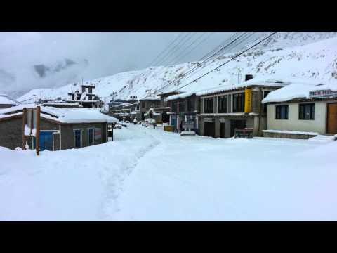Snowfall in Jomsom 2014 - Part 9
