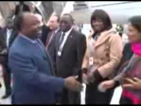Arrivée du Président en Suisse
