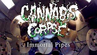 Cannabis Corpse - Immortal Pipes - Drum Cover - Daniel Guerrero