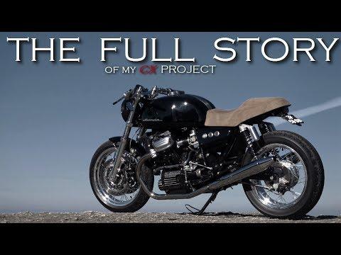Cafe Racer (Honda CX 500 / CX 650 By RACER TV) The Full Story
