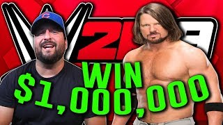 You Can Win 1 MILLION DOLLARS In WWE 2K19
