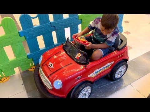 Akülü arabalar, çocuk parkı, korsan gemisi, oyuncaklar! Doruk'la eğlenceli bir gün!