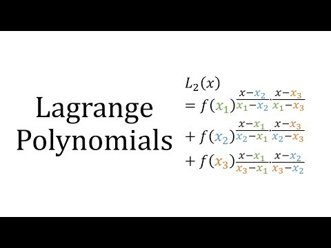 Lagrange Polynomials