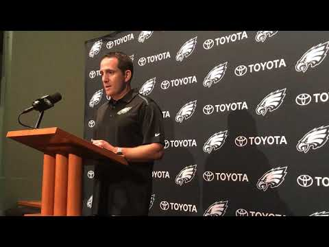 Eagles' Howie Roseman explains Jordan Matthews trade