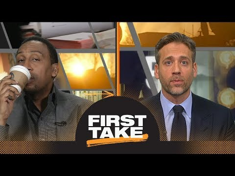 Stephen A. and Max debate if Steph Curry's injury impacts Warriors winning West | First Take | ESPN