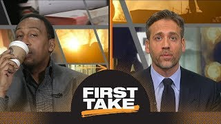 Stephen A. and Max debate if Steph Curry