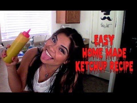 EASY Home Made Ketchup Recipe