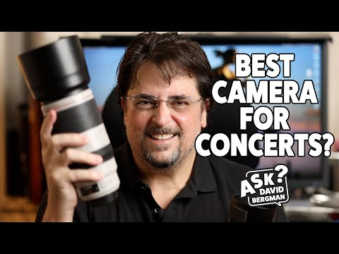 What's The Best Camera For Shooting Concerts? | Ask David Bergman