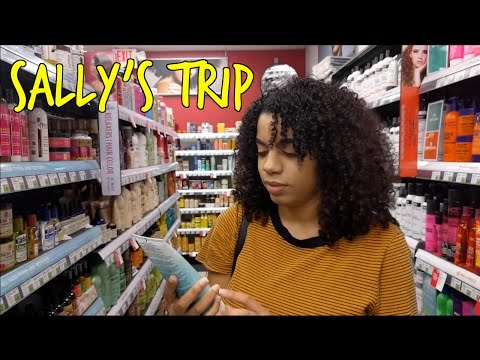 Sally's Beauty Supply : Follow Me To Buy Hair Products | Natural Curly Hair
