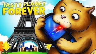 КОТИК ОБЖОРА ЕСТ ПОЛИЦЕЙСКИХ Весёлая мульт игра про ГОЛОДНОГО КОТА Tasty Planet Forever