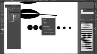 Урок Adobe Illustrator. Арт кисти.Рисуем цветочный узор. Art brush.