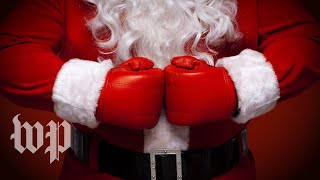 Naughty, instead of nice: Santa Clauses behaving badly