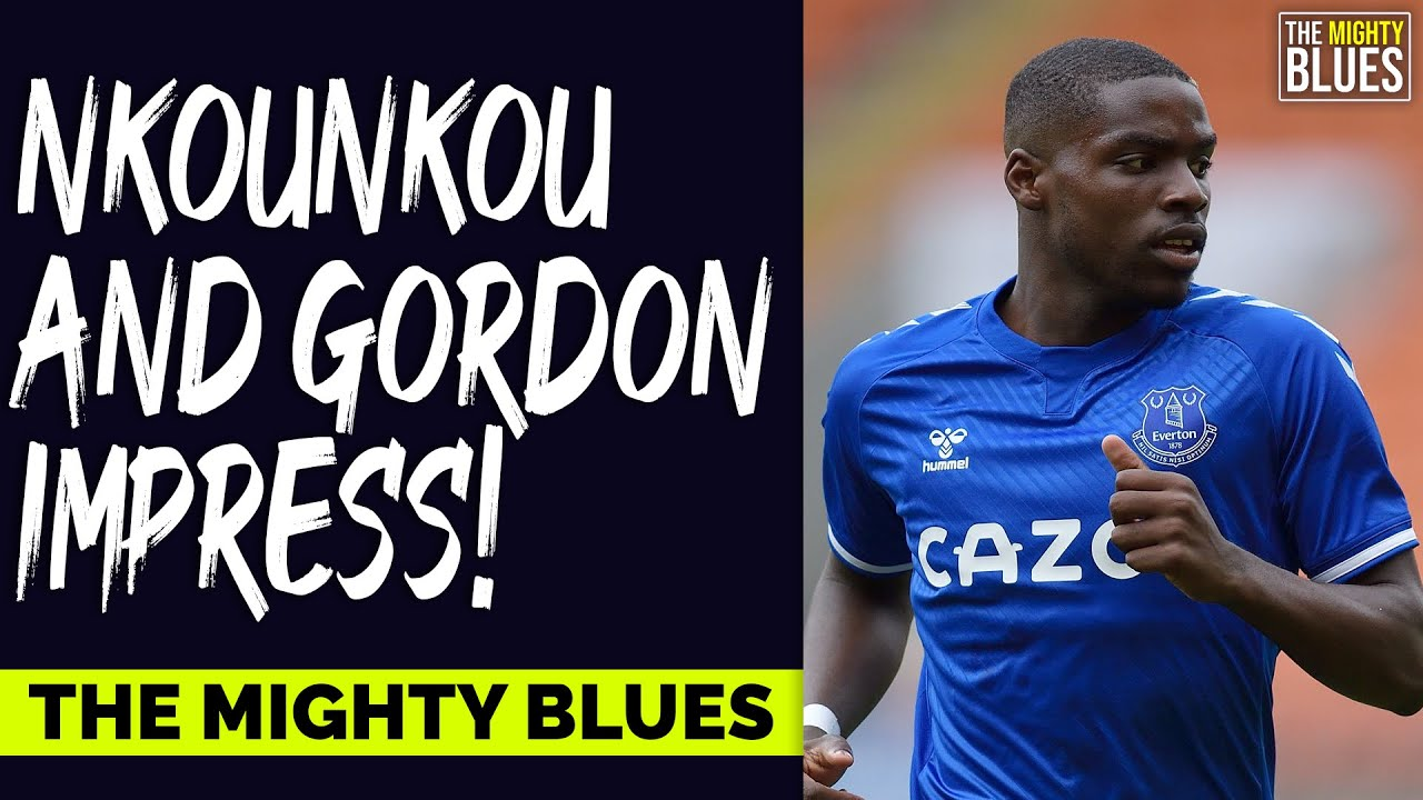 """""""Nkounkou And Gordon Shine In Cup Win!!""""    Everton 3-0 Salford City   Carabao Cup   A Blues Review!"""