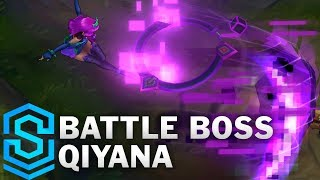 Battle Boss Qiyana Skin Spotlight - Pre-Release - League of Legends