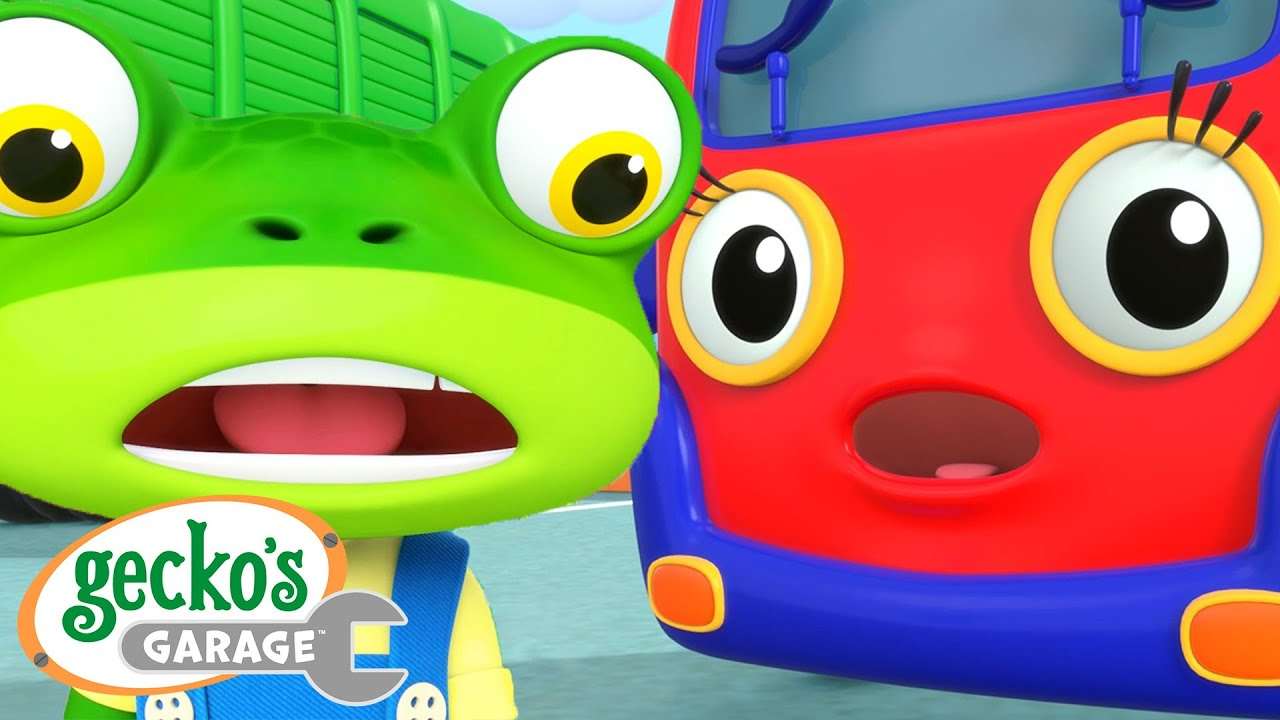 Baby Truck's Loose Tooth Gecko's Garage Funny Cartoon For Kids Learning Videos For Toddlers