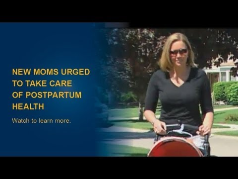 After Delivery: New moms urged to take care of postpartum health