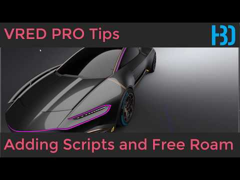 VRED PRO 2019 Add simple VR Free Roam Script Mp3