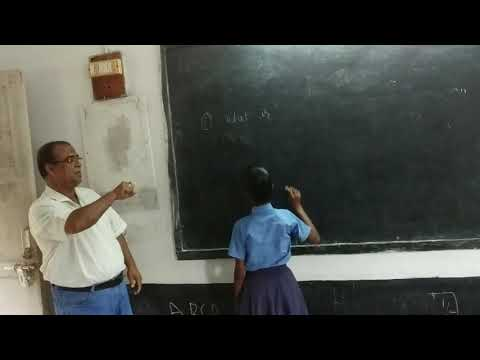 Sign Language Writing For Hearing Impaired Students