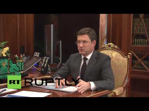 Russia: Russian energy firms 'cope well' on global markets, Novak tells Putin