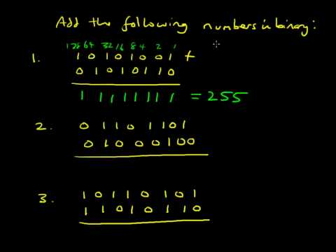 34   Binary addition